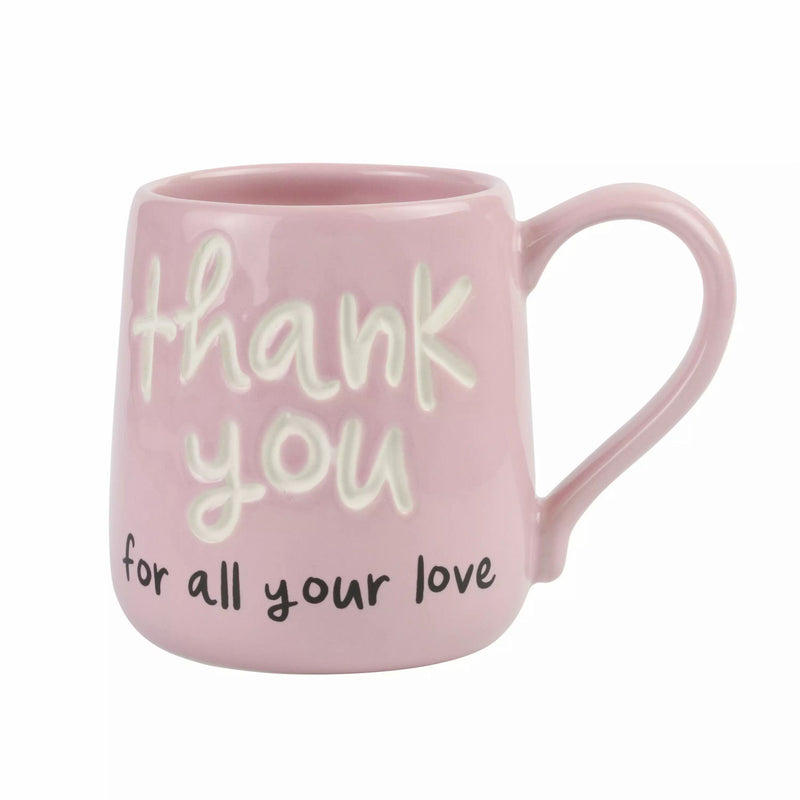 Thank You For Love Engrave Mug