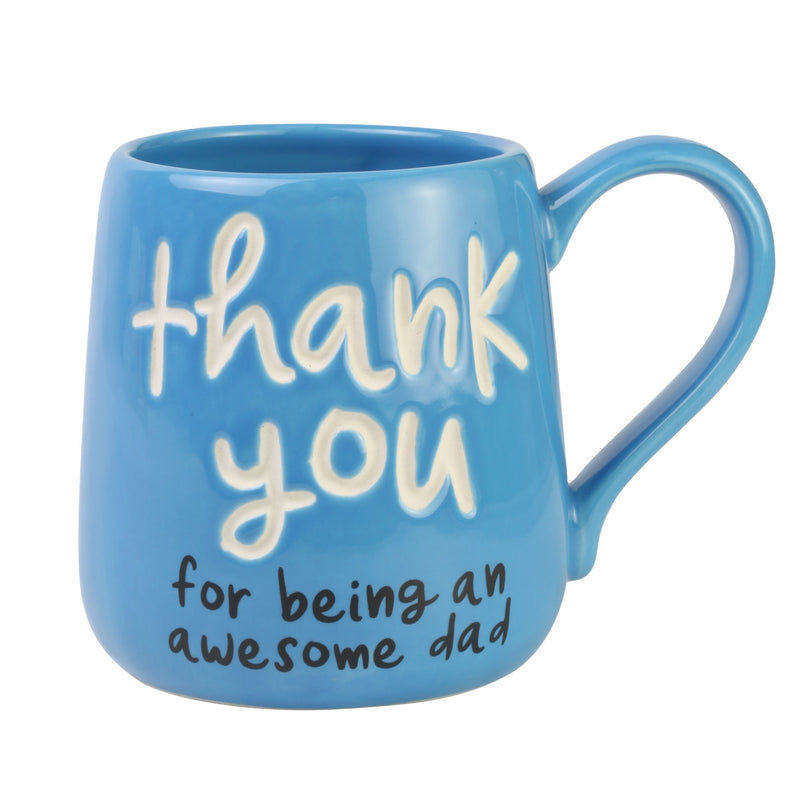 Thank You Dad Engraved Mug