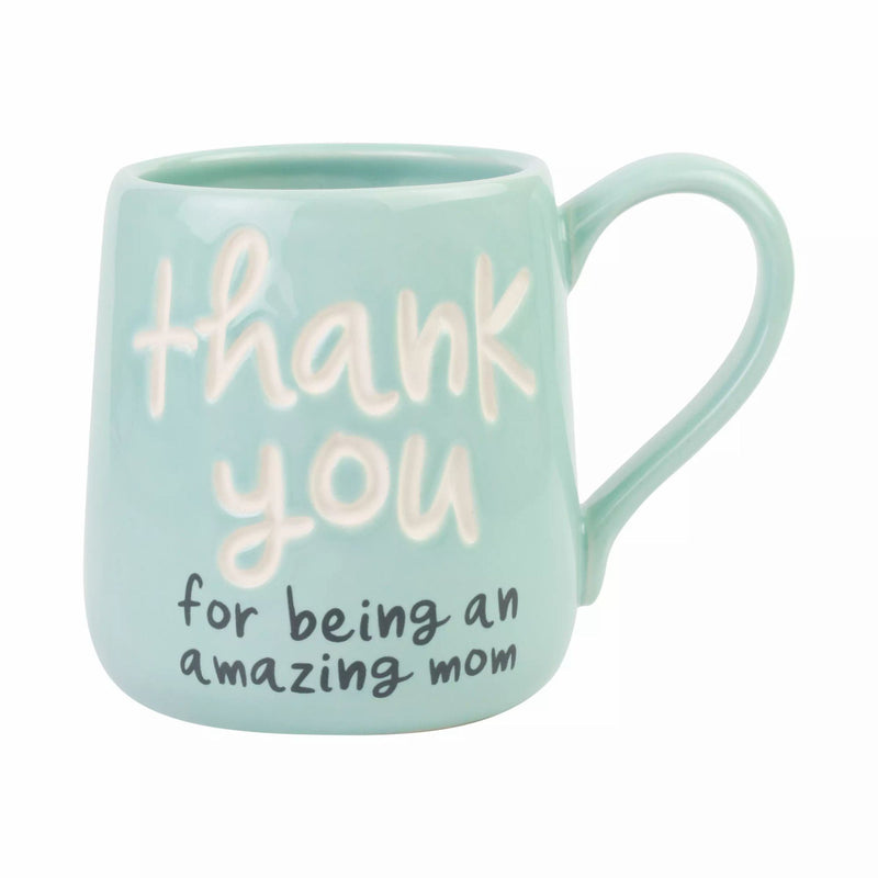 Thank You Mom Engraved Mug