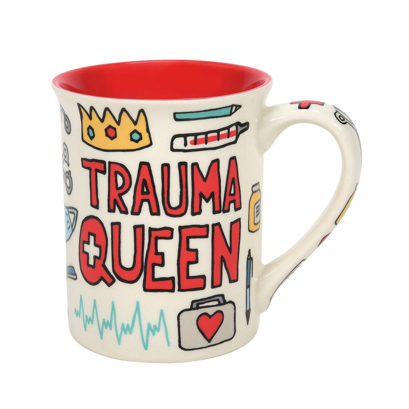 Trauma Queen Mug 16 oz