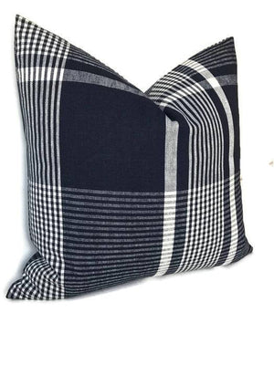 Zak and Fox Expedition Pillow Cover in Clapperton Blue