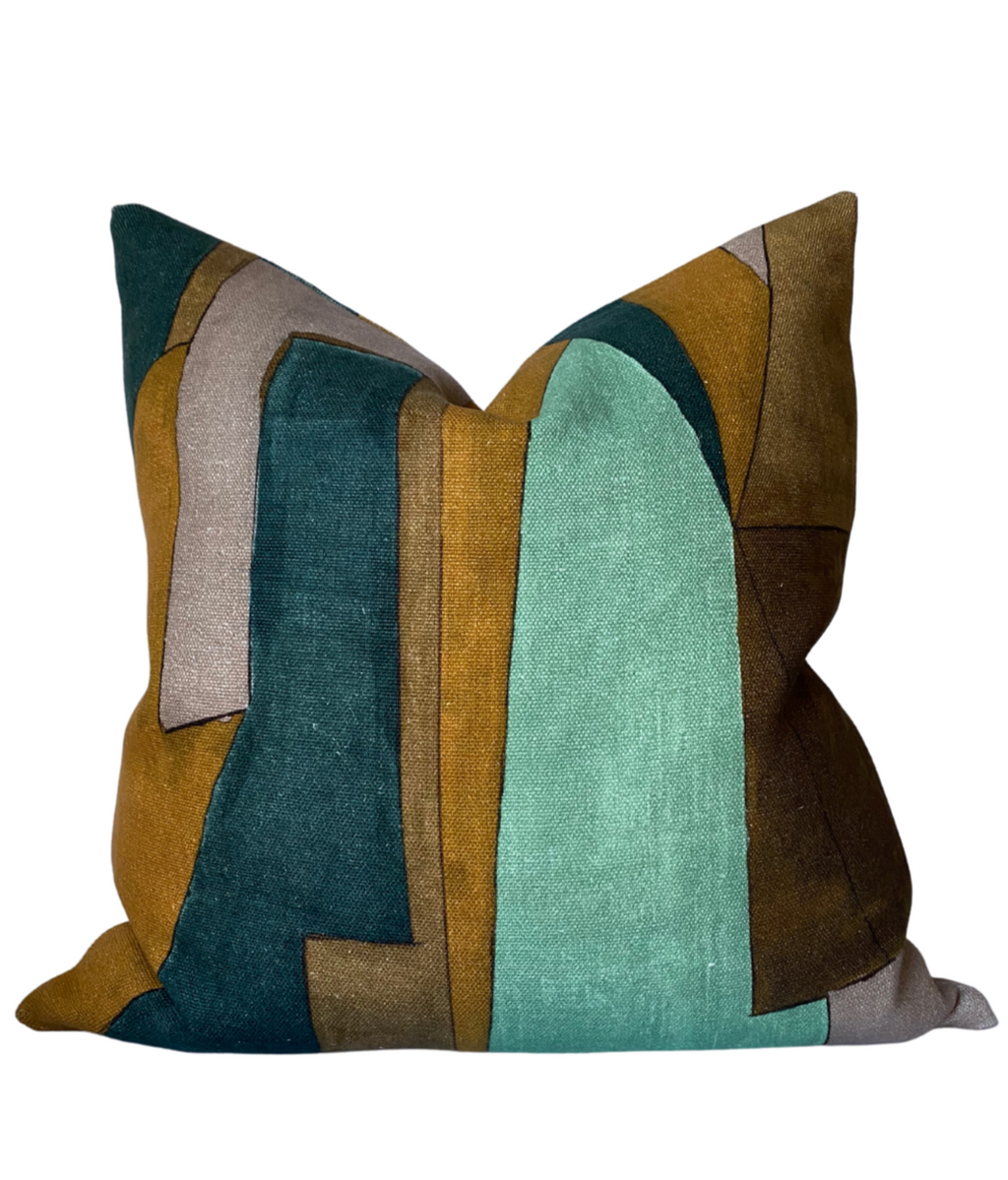 Kelly Wearstler District Pillow Cover in Tobacco