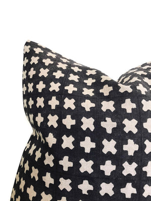 BOGO Pillow Cover in Pavement Black