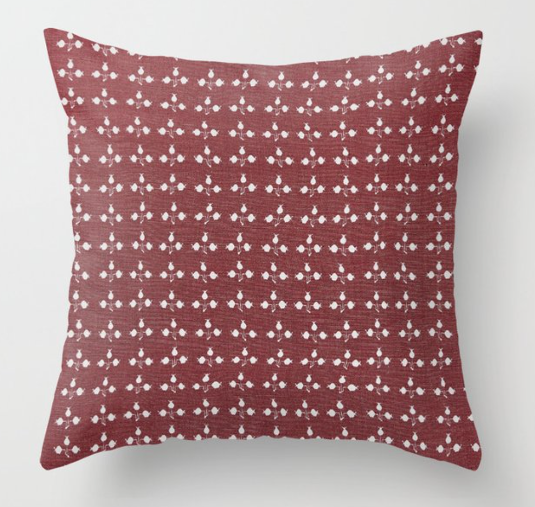 Zak and Fox Pom Pillow Cover in Rubia