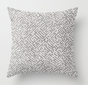 Zak and Fox Basilica Pillow Cover in Gri