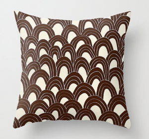 Trina Turk Outdoor Arches Pillow Cover in Java