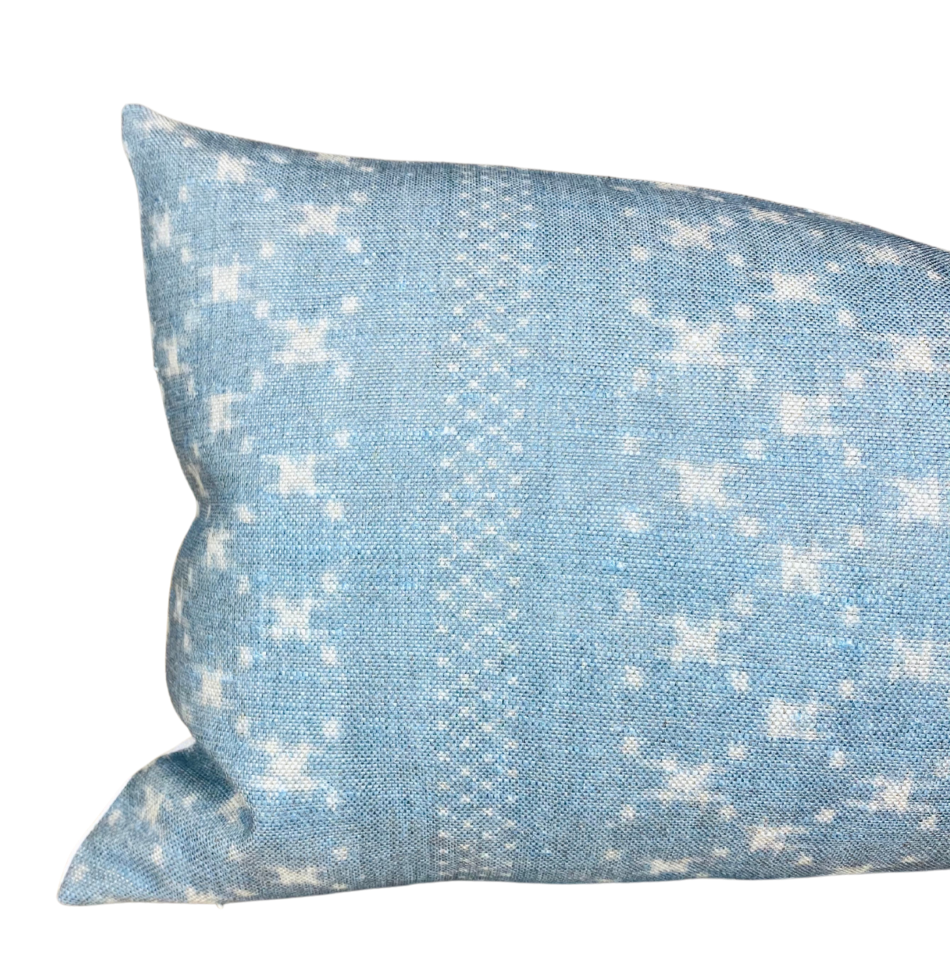Clay McLaurin Nagoya Pillow Cover in Azure