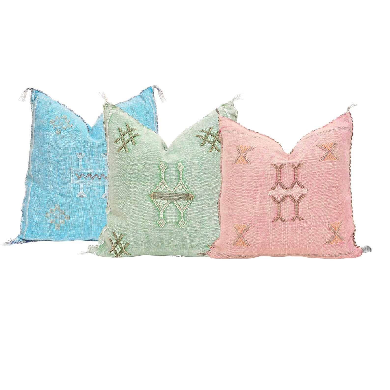Cactus Silk Pillow Covers