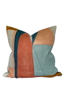 Kelly Wearstler District Pillow Cover in Apricot