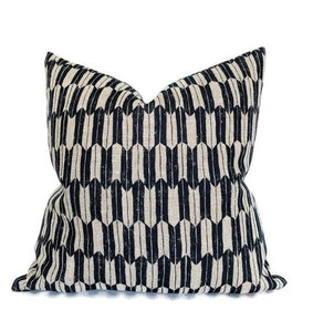 Clay McLaurin Arrow Pillow Cover in Jet Black