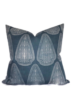 Artemis Pillow Cover in Lake Blue