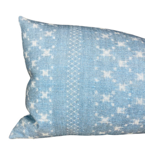 Ready to Ship, 12x24, Nagoya Pillow Cover in Azure