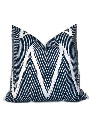 Lacefield Bali Pillow Cover in Blue
