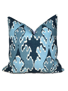 Kelly Wearstler Bengal Bazaar Pillow Cover in Teal