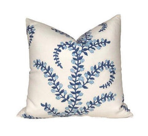John Robshaw Prasana Bluebell Pillow Cover