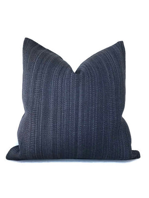 Zak and Fox Pampa Pillow Cover in Indigo Blue