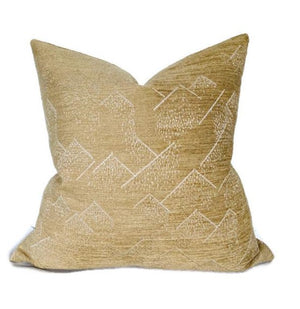 Kelly Wearstler Brink Pillow Cover in Bronze