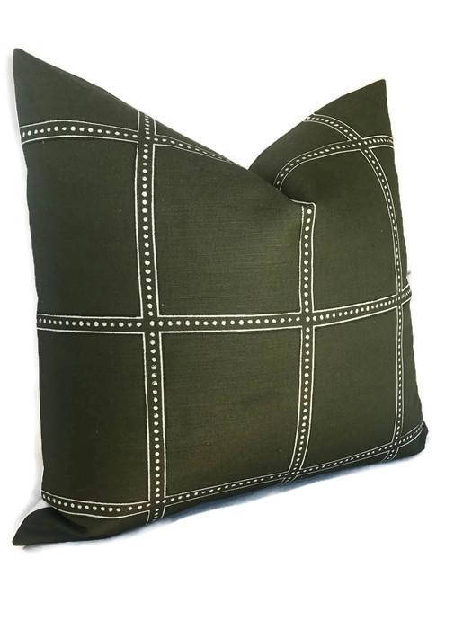 Zak and Fox Postage Pillow Cover in Campaign
