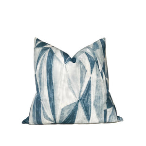 Kelly Wearstler Covet Pillow Cover in Denim Blue