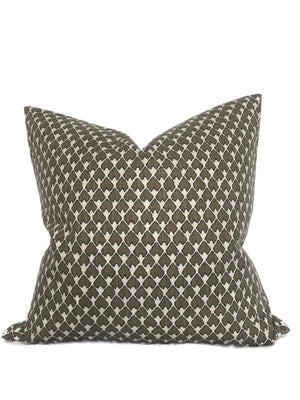 Lacefield Diego Pillow Cover in Smoke