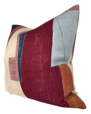 Kelly Wearstler District Pillow Cover in Claret