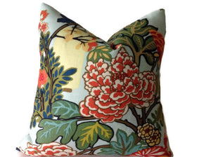 Ready to Ship 16x16, Chiang May Dragon Pillow Cover in Aquamarine