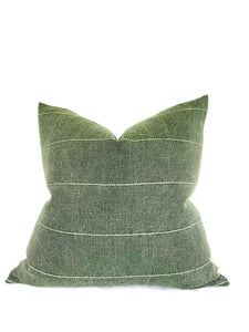 Faso Pillow Cover in Drake Green
