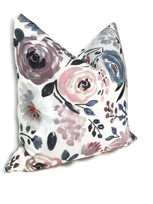 Caitlin Wilson English Garden Rose Pillow Cover