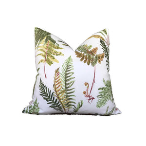 Schumacher Fougeres Pillow Cover in Spring