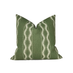 Peter Dunham Zanzibar Pillow Cover in Green