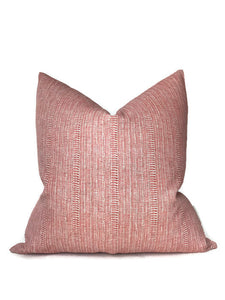 Saqqara Pillow Cover in Guava, Walter G Pillows, Decorative Throw Pillows