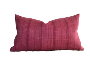 Peter Dunham Malabar Pillow Cover in Hibiscus