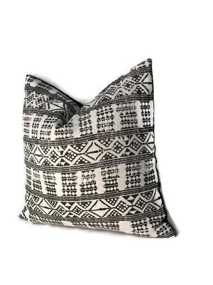 Peter Dunham Addis Pillow Cover in Java Black