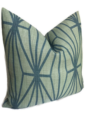 Kelly Wearstler Katana Pillow Cover in Jade