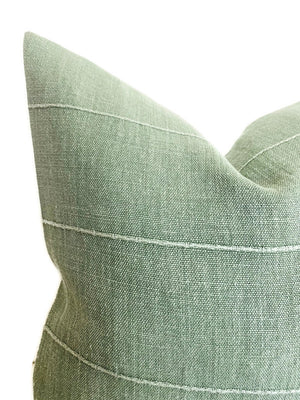 Faso Pillow Cover in Laurel Green