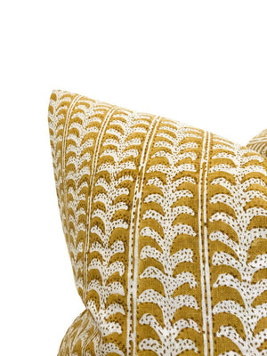 Luxor Pillow Cover in Saffron, Walter G Textiles