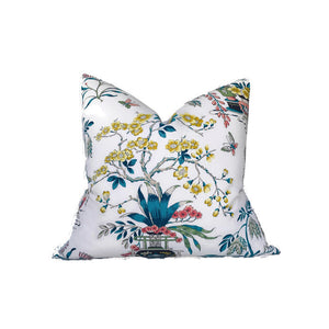 Schumacher Ming Vase Pillow Cover in Multi