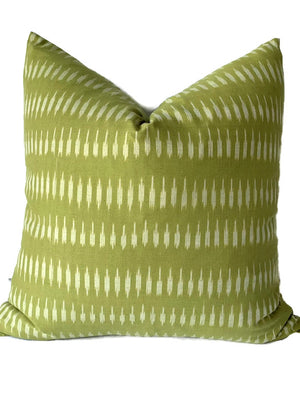 Kyra Pillow Cover in Moss Green