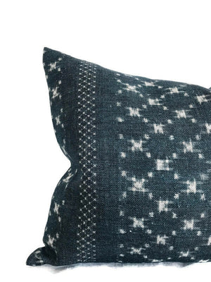 Clay McLaurin Nagoya Pillow Cover in Indigo