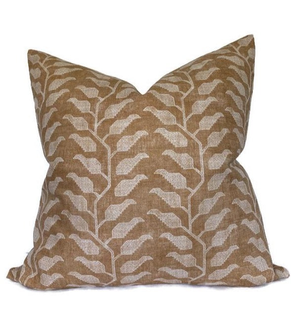 Folio Pillow Cover in Ochre