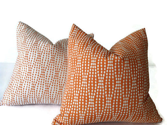 Waverly Strands Jacquard Tiger Lily Pillow Cover