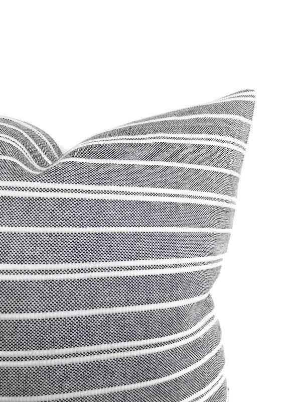 Acadia Stripe Pillow Cover in Otis