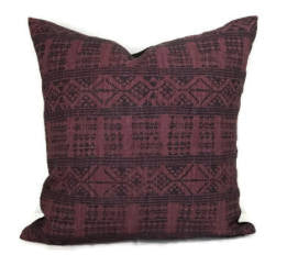 Peter Dunham Addis Pillow Cover in Midnight Pasha