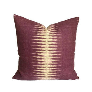 Peter Dunham Ikat Pillow Cover in Pasha