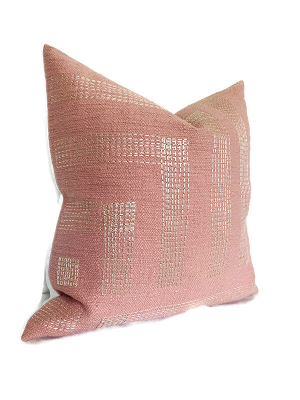 Kelly Wearstler Pastiche Pillow Cover in Rouge Ivory