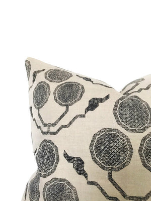 Pommia Pillow Cover in Kohl