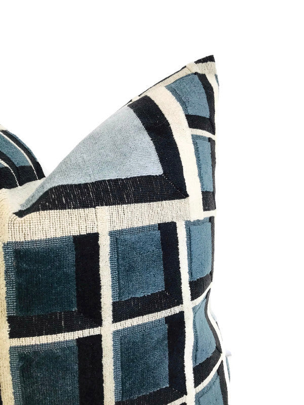 Kelly Wearstler Rarity Pillow Cover in Sky Sapphire