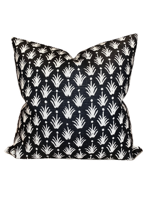 Clay McLaurin Reeds Pillow Cover in Jet