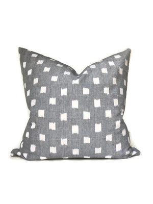 Rex Pillow Cover in Grey