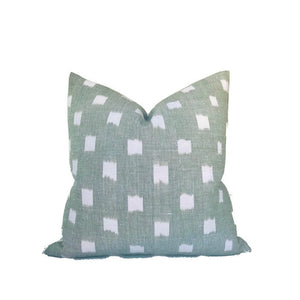 Rex Pillow Cover in Jade Green